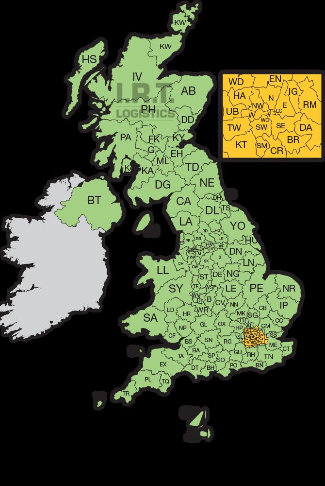 englandskarta
